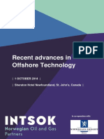 Canada 2014 Recent Advances in Offshore Technology 250814