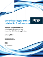 GHG Emissions Related to Freshwater Reservoirs