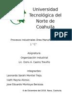 Proyecto Organizacion Industrial