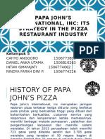 PPT Papa John's Pizza