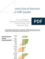 The Economic Cost of Exclusion of LGBT People
