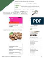 7 Benefícios Das Nozes Para a Saúde _ Dieta Alimentar _ Dietas e Reeducação Alimentar