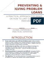 Principles of Problem Loan Management