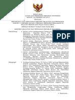 Permen KP No 28 tahun 2014 perubahan atas permen kp 17 th 2013 ttg perizinan reklamasi di PWP3K.pdf
