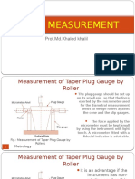 MQC Taper Measurement
