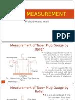 MQC Taper Measurement