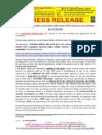 20161207-PRESS RELEASE Mr G. H. Schorel-Hlavka O.W.B. - IsSUE -Senator Nick Xenophon, Riparian Rights, Validity Senator Culleton Election, Etc & the Constitution-summary