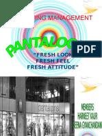 30928957 Pantaloons Project on Marketing