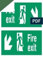 Fire Exit Dwn
