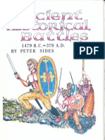 Peter Sides - Ancient Historical Battles 1479 B.C.-378 A.D. (Gosling Press) [OCR]