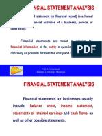 Financial Statement Analysis - OM