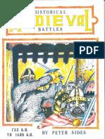 Peter Sides - Historical Medieval Battles 732 A.D. to 1485 A.D. (Gosling Press) [OCR]