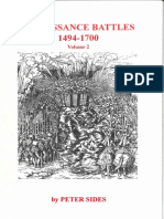 Peter Sides - Renaissance Battles 1494-1700 Vol. 2 (Gosling Press) [OCR]