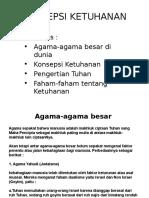 KONSEPSI KETUHANAN print.ppt