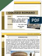 Coliseo Romano Historia