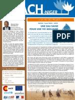 Infolettre 3 ACH-Niger