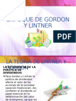 Enfoque de Gordon y Lintner