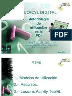 Metodología de utilización de la PDI_Julita Fernández Díez