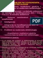 Osnovni Problemi Na Sovremenata Defektologija1