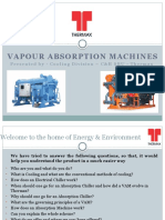 Vapour Absorption Machine Basics Presentation