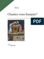 BETTENS Chantez Vous Français