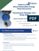 2014 SGP Presentation CNBC Africa Renewables Energy Panel Discussion