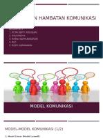 Bentuk Dan Hambatan Komunikasi(1)
