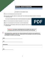 Financial Questionnaire PDF