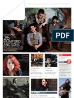 Acoustic Magagazine Issue 43 Contents