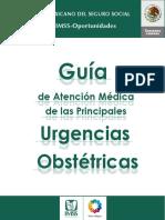Guía de Atención Médica de Las Principales Urgencias Obstetricas 2010 Imss