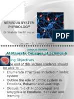 Physiology of Limbic System by Dr Shahab