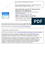 BIM for sustainability analysis