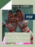 Viaje Humanitario a India 2016 Fundación Clarós