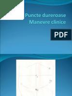 Puncte Dureroase, Manevre Clinice
