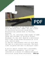 Journalism PH news Report