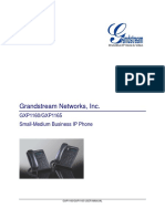 GrandStream-gxp116x Usermanual English