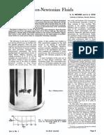 Agitation of Non-Newtonian Fluids