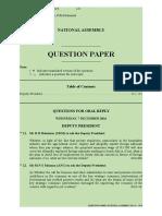 Question Paper No 16