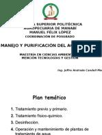 01 CONFERENCIA 1 Fundamentos Potabilizacion