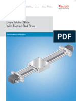 Linear Motion Slide Toothed Belt Drive