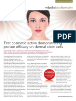 Argan First Cosmetic Active Demonstrating Proven Efficacy on Dermal Stem Cells in-cosmetic Asia Preview 2011