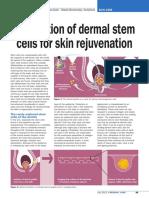 Argan Vitalisation of Dermal Stem Cells for Skin Rejuvenation Personal Care 07 2011