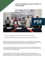 Presentan a verificadores acreditados por Sectur Federal en la zona arqueológica de Palenque