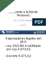 Presentacion IRP20!08!12