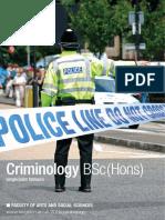 Criminology 2016
