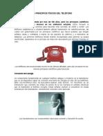 Los Principios Físicos Del Teléfono