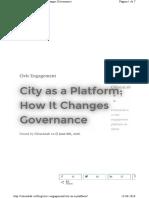 Citizenlab.co Blog Civic-Engagement City-As-A-platform