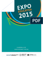 Cuadernillo Capacitaciones 2015 2016 2