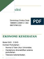1. Pengantar Ekonomi Kesehatan