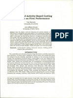 3. the Impact of Activity-Based Costing
